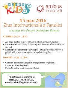 Afis Ziua Internationala a Familiei - 15 mai 2016