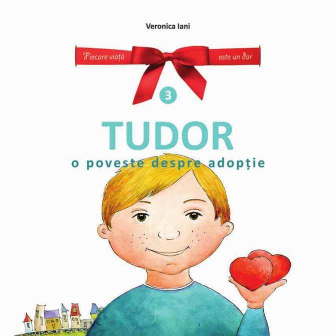 "Lansare de carte: ""Tudor – o poveste despre adopţie"""