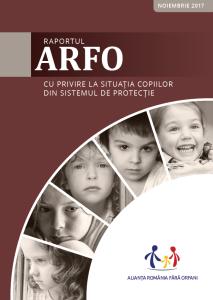 Raport ARFO 2017 - coperta